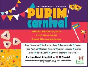 Purim Carnival