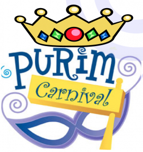 FHJC 13th Annual Purim Carnival – Sunday, March 12th – 11:30 – 2:00 PM.