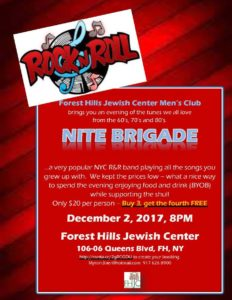 December 2 – Rock and Roll Evening