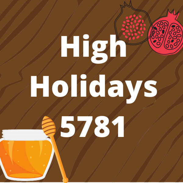 High Holidays 5781